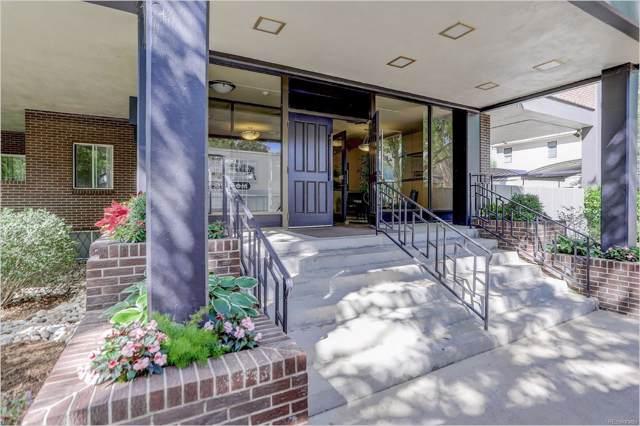 909 N Lafayette Street #101, Denver, CO 80218 (MLS #8756456) :: 8z Real Estate