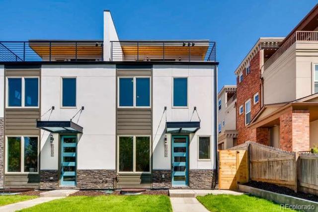 1910 E 21st Avenue, Denver, CO 80205 (#8757774) :: The Peak Properties Group