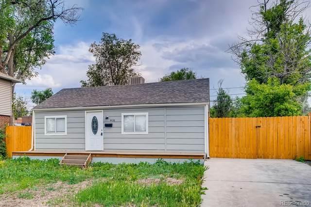 4438 W Kentucky Avenue, Denver, CO 80219 (#8760789) :: The Gilbert Group