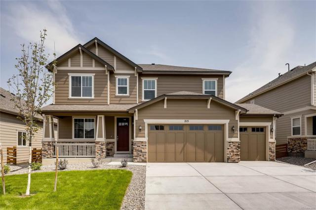 215 Horizon Avenue, Erie, CO 80516 (#8761175) :: The Peak Properties Group