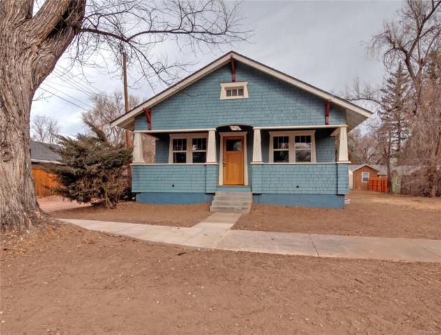 1118 E Cache La Poudre Street, Colorado Springs, CO 80903 (#8762909) :: House Hunters Colorado