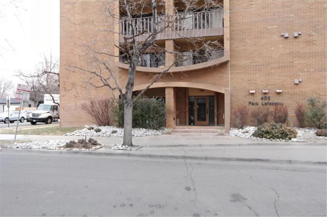 400 S Lafayette Street #1101, Denver, CO 80209 (#8766677) :: Wisdom Real Estate