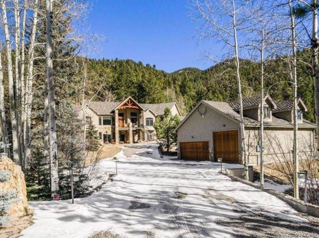 1840 Witter Gulch Road, Evergreen, CO 80439 (MLS #8775733) :: 8z Real Estate