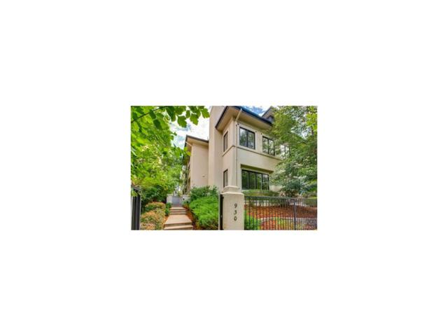 930 N Pennsylvania Street, Denver, CO 80203 (MLS #8778598) :: 8z Real Estate