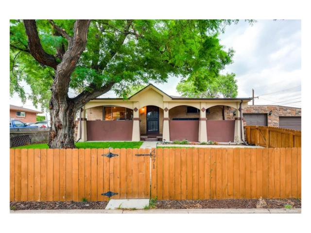 4971 W Hurst Place, Denver, CO 80204 (MLS #8778958) :: 8z Real Estate