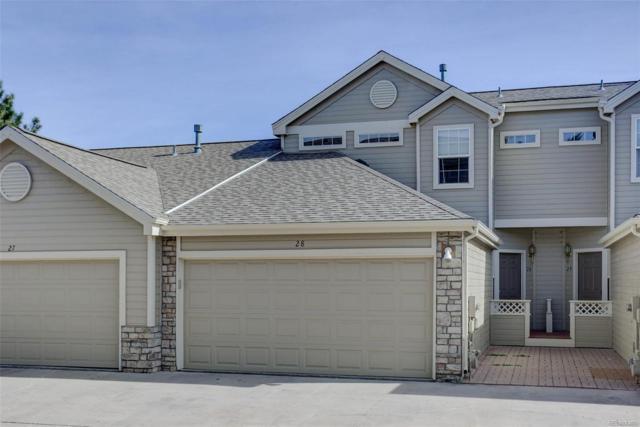 211 W Jamison Circle #28, Littleton, CO 80120 (#8779889) :: The Peak Properties Group