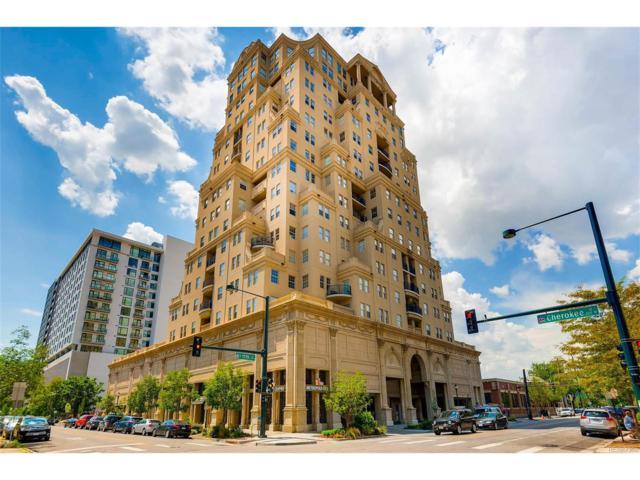 300 W 11th Avenue 5J, Denver, CO 80204 (MLS #8781338) :: 8z Real Estate
