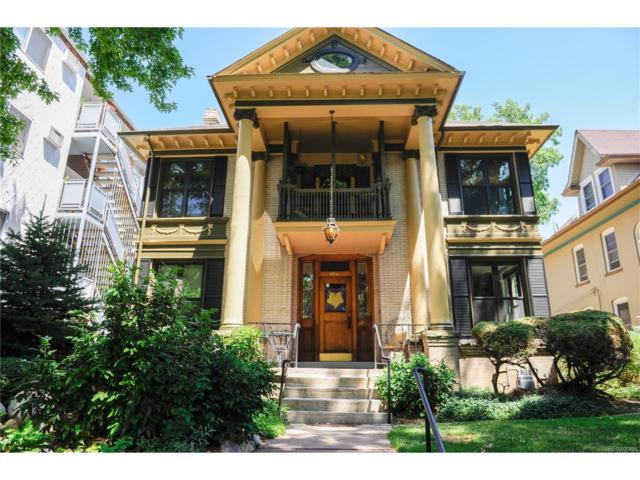 1439 Detroit Street, Denver, CO 80206 (#8781432) :: Thrive Real Estate Group