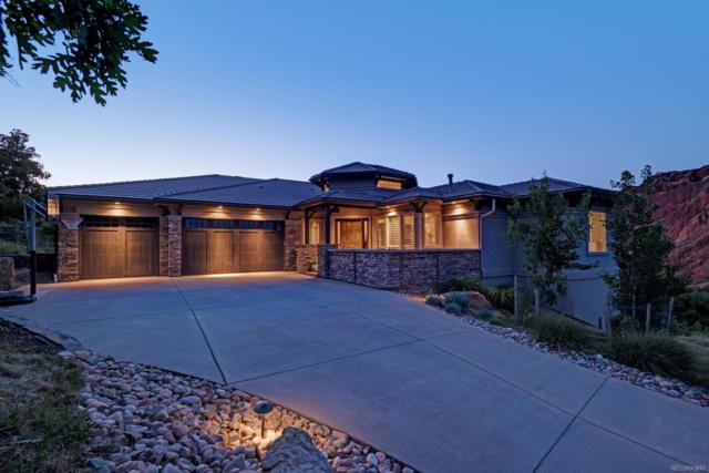 4801 Ponderosa Trail, Littleton, CO 80125 (#8781772) :: The Tamborra Team