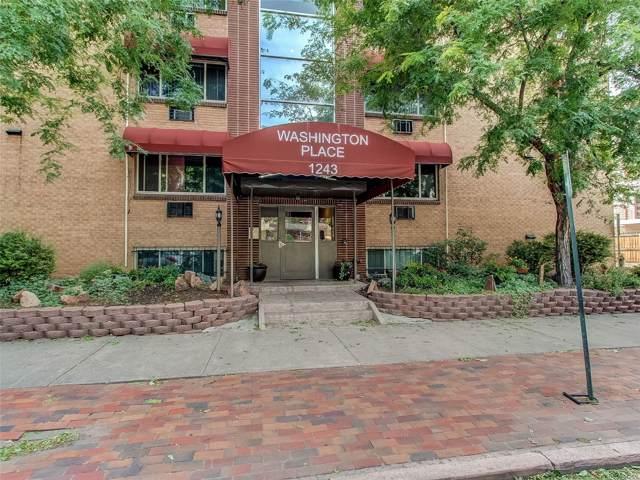 1243 Washington Street #308, Denver, CO 80203 (MLS #8781792) :: Keller Williams Realty