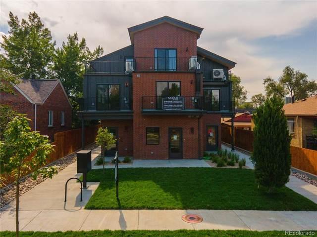 1423 Winona Court, Denver, CO 80204 (#8787869) :: The Scott Futa Home Team