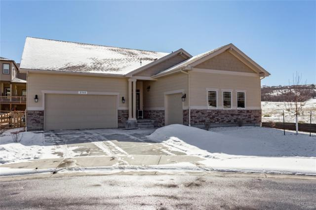 2348 Purple Finch Court, Castle Rock, CO 80109 (#8788016) :: The HomeSmiths Team - Keller Williams