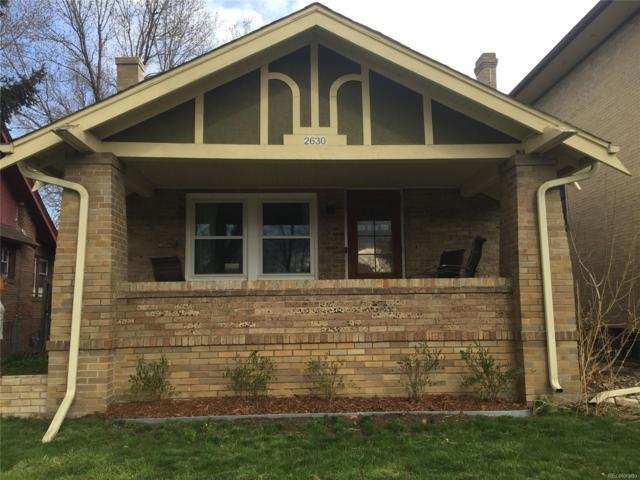 2630 York Street, Denver, CO 80205 (#8789443) :: Bring Home Denver