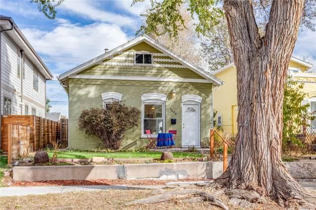 2450 S Bannock Street, Denver, CO 80223 (#8790048) :: milehimodern