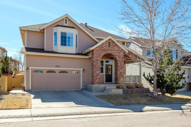 5404 Cloverbrook Circle, Highlands Ranch, CO 80130 (#8792353) :: The Pete Cook Home Group