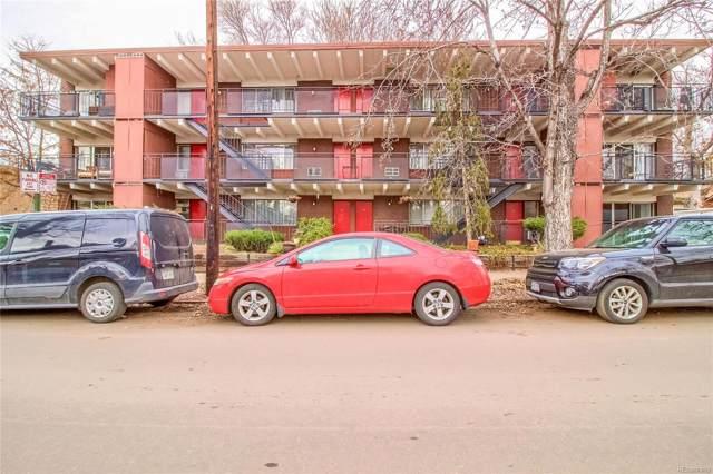 701 E Bayaud Avenue #4, Denver, CO 80209 (#8793025) :: 5281 Exclusive Homes Realty