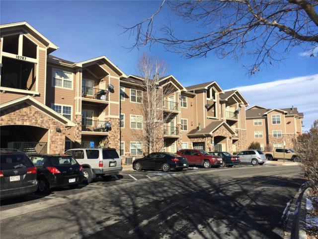 10787 S Twenty Mile Road #306, Parker, CO 80134 (#8799275) :: The Heyl Group at Keller Williams