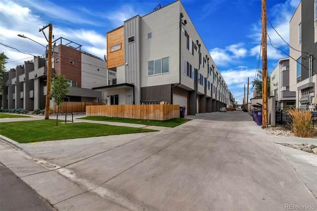 3245 W 17th Avenue #4, Denver, CO 80204 (#8806375) :: Mile High Luxury Real Estate