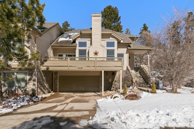 4209 Morning Star Drive, Castle Rock, CO 80108 (#8810729) :: The HomeSmiths Team - Keller Williams