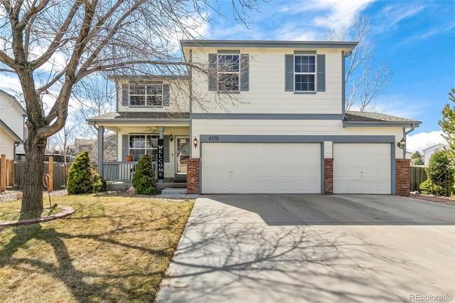 4359 S Halifax Way, Aurora, CO 80015 (MLS #8813880) :: 8z Real Estate