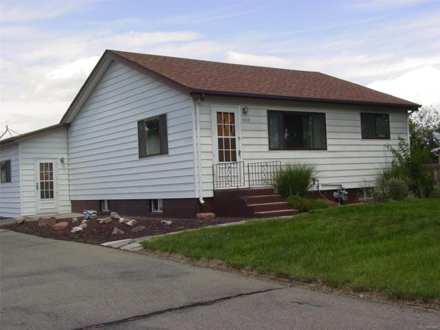 610 Elizabeth Avenue, Platteville, CO 80651 (MLS #8814935) :: 8z Real Estate