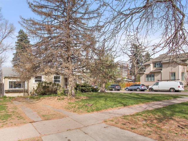 2401 S Josephine Street, Denver, CO 80210 (#8815423) :: The Peak Properties Group