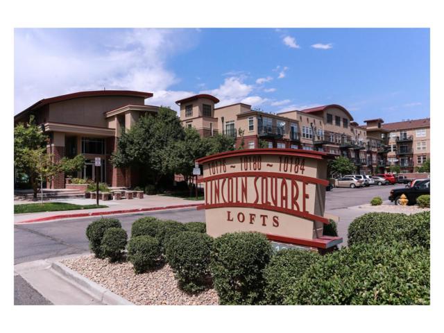 10184 Park Meadows Drive #1214, Lone Tree, CO 80124 (MLS #8820068) :: 8z Real Estate