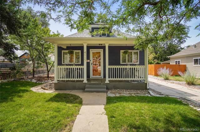 4127 Yates Street, Denver, CO 80212 (#8824491) :: The Scott Futa Home Team