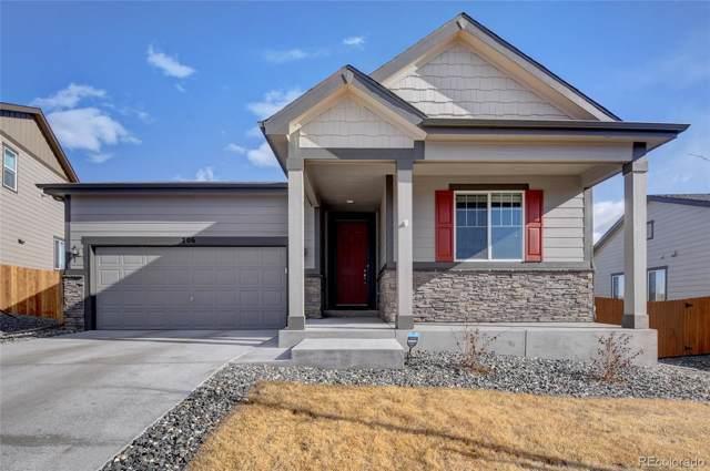 706 Blue Teal Drive, Castle Rock, CO 80104 (#8824877) :: Harling Real Estate