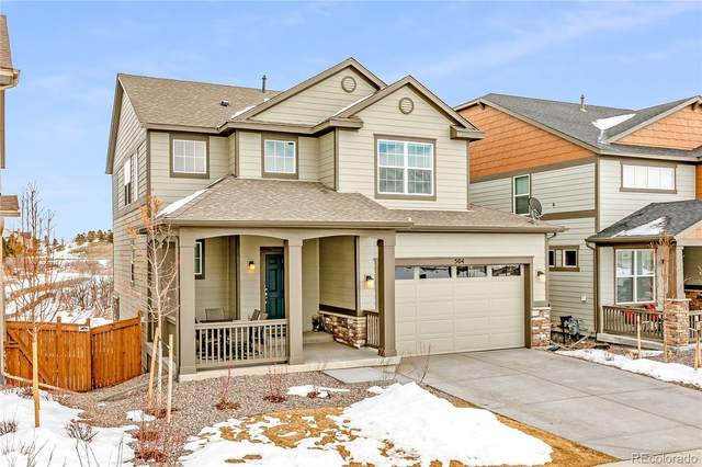 504 Hyde Park Circle, Castle Pines, CO 80108 (#8831106) :: The Colorado Foothills Team | Berkshire Hathaway Elevated Living Real Estate