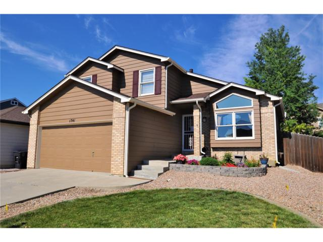 1741 Spencer Street, Longmont, CO 80501 (MLS #8831167) :: 8z Real Estate