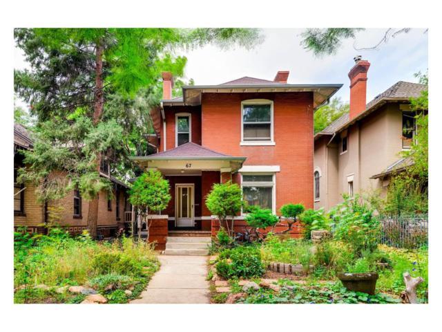 65 N Sherman Street, Denver, CO 80203 (MLS #8834116) :: 8z Real Estate