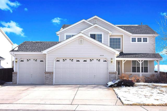 4520 S Ireland Lane, Aurora, CO 80015 (#8837304) :: House Hunters Colorado