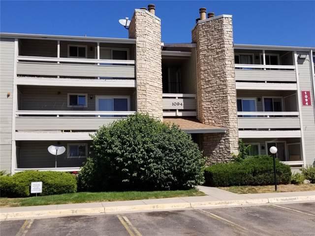 1094 S Dearborn Street #102, Aurora, CO 80012 (#8838349) :: James Crocker Team