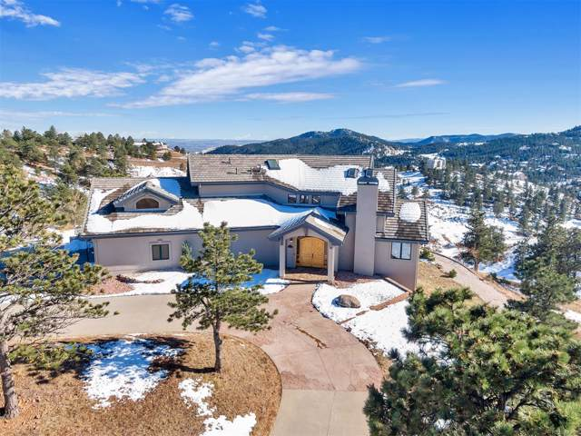 156 S Lookout Mountain Road, Golden, CO 80401 (MLS #8839936) :: 8z Real Estate