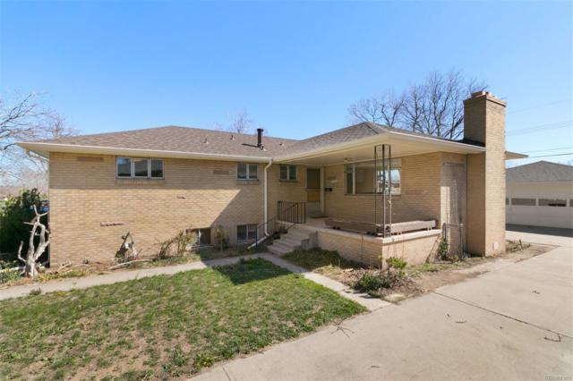 4520 Teller Street, Wheat Ridge, CO 80033 (#8840501) :: The HomeSmiths Team - Keller Williams