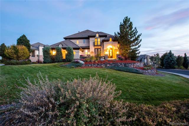 10000 S Shadow Hill Drive, Lone Tree, CO 80124 (#8847403) :: Mile High Luxury Real Estate
