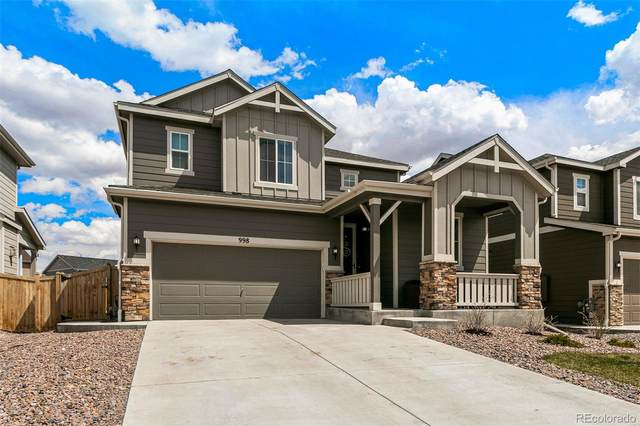 998 White Leaf Circle, Castle Rock, CO 80108 (#8847560) :: Mile High Luxury Real Estate