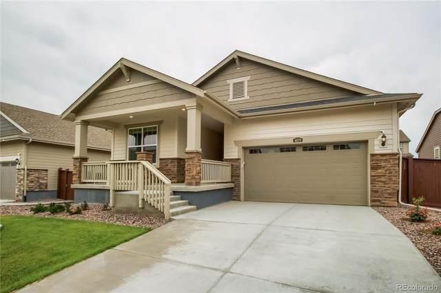 4870 E 144th Drive, Thornton, CO 80602 (#8850308) :: Finch & Gable Real Estate Co.