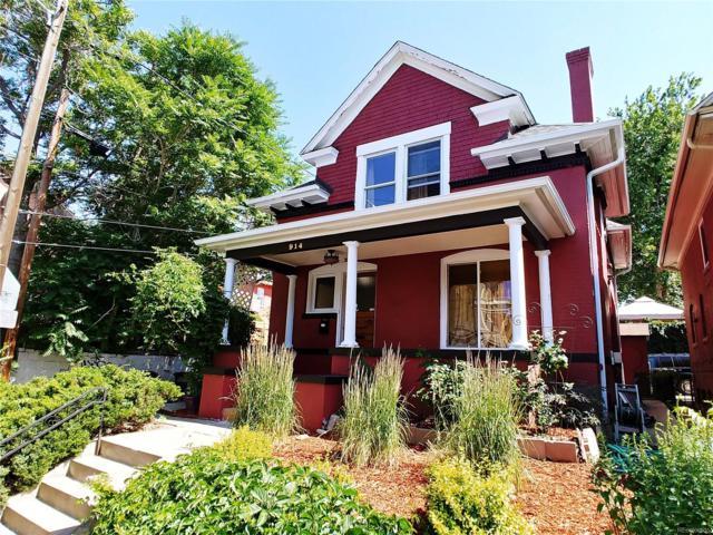 914 E 13th Avenue, Denver, CO 80218 (#8858164) :: Bring Home Denver