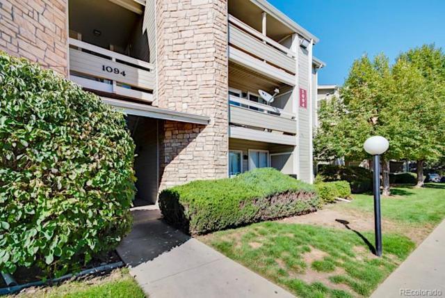 1094 S Dearborn Street #303, Aurora, CO 80012 (#8859337) :: The Griffith Home Team