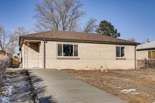 3625 Kearney Street, Denver, CO 80207 (#8859930) :: Real Estate Professionals