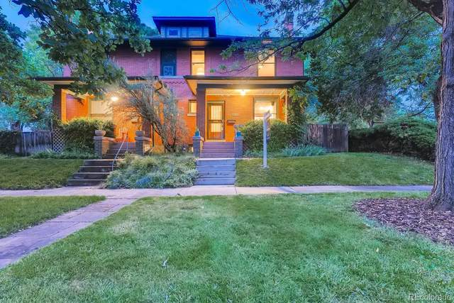 2100 N Vine Street, Denver, CO 80205 (#8860502) :: The Gilbert Group