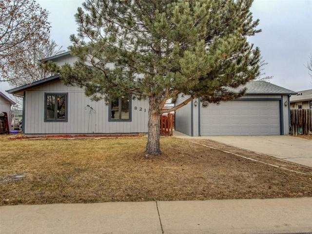821 Independence Drive, Longmont, CO 80504 (#8863333) :: The Heyl Group at Keller Williams