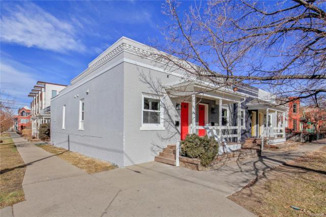 2405-2411 Tremont Place, Denver, CO 80205 (#8867465) :: The Peak Properties Group