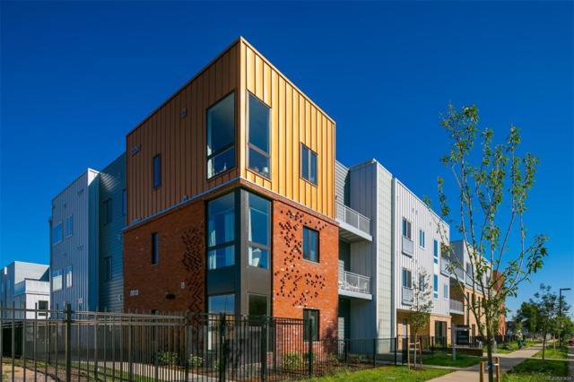 2570 Lawrence Street C105, Denver, CO 80205 (#8867478) :: The Heyl Group at Keller Williams