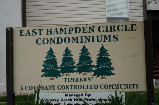 14934 E Hampden Circle #10, Aurora, CO 80014 (#8871686) :: The Dixon Group