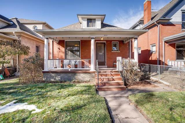465 S Washington Street, Denver, CO 80209 (#8876333) :: Real Estate Professionals