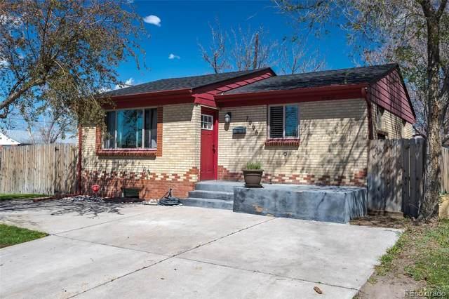 7996 Newport Street, Commerce City, CO 80022 (#8876898) :: The Peak Properties Group