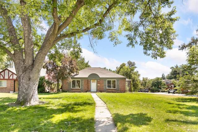 1980 S Clayton Street, Denver, CO 80210 (MLS #8878320) :: Bliss Realty Group